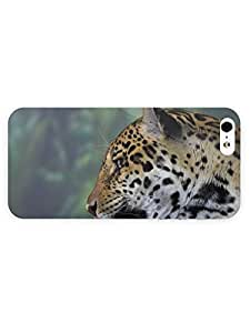 3d Full Wrap Case For HTC One M7 Cover Animal Hungry Leopard