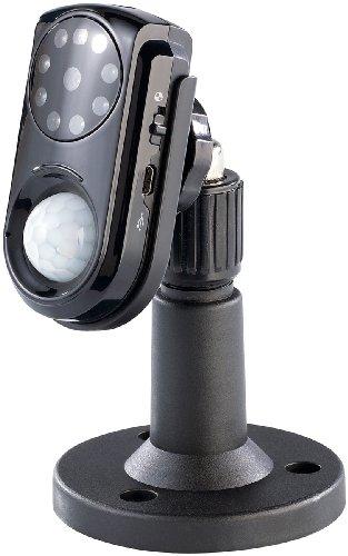VisorTech GSM-Überwachungskamera mit PIR-Sensor, Nachtsicht & Mikrofon