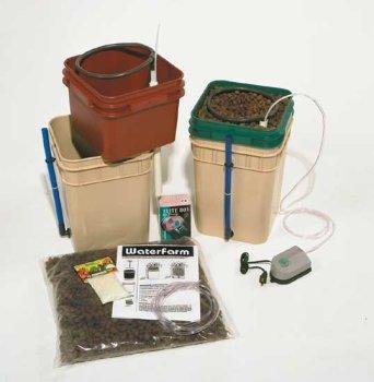 Plant Drip Hydroponics System (Waterfarm 1-4 plant drip system)