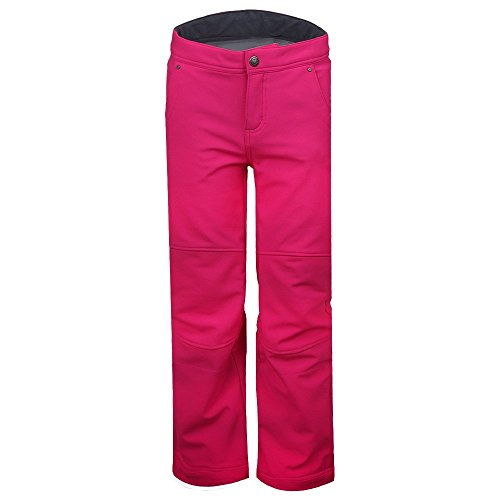 Obermeyer Kids Girl's Jolie Softshell Pant (Little Kids/Big Kids) Electric Pink (Contour Soft Shell Pant)