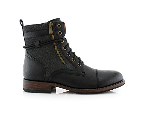 Polar Fox Kanye MPX808578 Stylish Men's Boots For Work or Wasual Wear - stylishcombatboots.com
