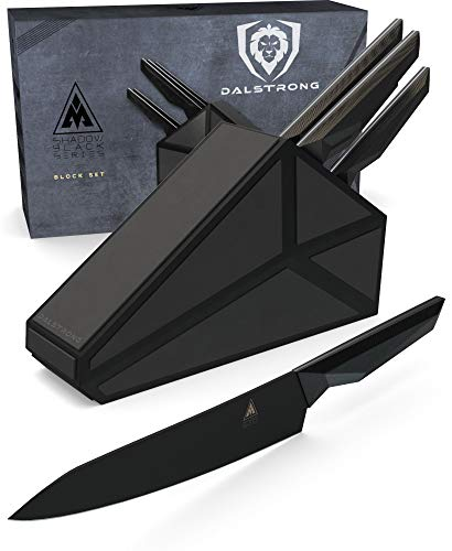 Best Dalstrong Knife Set Block Shadow Black Series