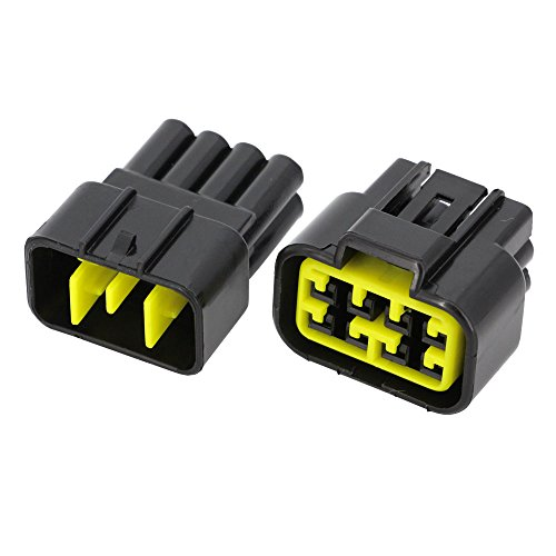 5 Sets/Kits 8 Pin/Way Waterproof Electrical Wire Connectors DJ7081Y-2.3-11/21 Male and female Automobile Connector