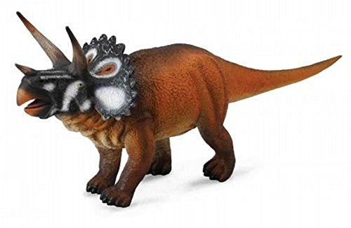 Paleontologist Approved Model CollectA Prehistoric Life Triceratops Deluxe 1:40 Scale Dinosaur Figure
