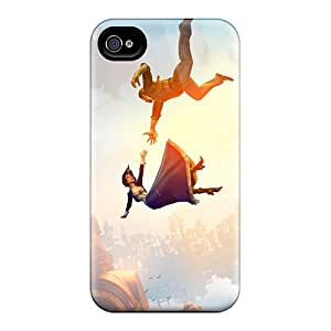 Great Hard Cell-phone Cases For Apple Iphone 4/4s With Customized Realistic Bioshock Infinite Falling Pattern LeoSwiech
