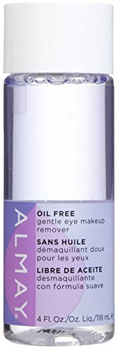 Almay Oil-free Eye Makeup Remover Liquid, 4 Fluid Ounce (Pack of 7) by Almay