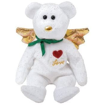 98ab009de7c TY Beanie Baby - GIFT the Bear (Green Version) (Hallmark Gold Crown  Exclusive