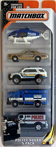 matchbox-2015-series-police-squad-5-pack