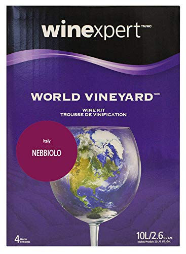 winexpert B00GHWVTD2 FBA_Does Not Apply World Vineyard Nebbiolo (Formerly Italian Barolo Style)