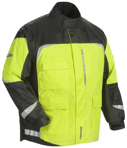 Tourmaster Sentinel 2.0 Rainsuit Jacket (XXX-Large, Hi-Viz/Black)