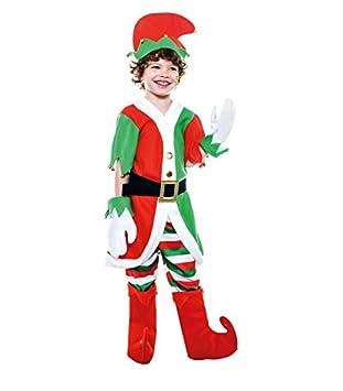Disfraz de Elfo Chaqueta infantil S-(5/6A): Amazon.es: Juguetes y ...
