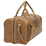 "Polare 23"" Classic Full Grain Leather Weekender"