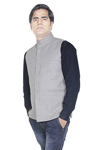Winter Warm Coat - Mens Jacket Formal - Cream Wool Jacket Outwear