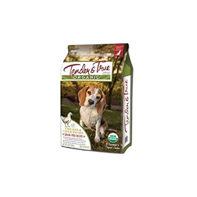 Tender & True Dog Food Organic Chicken & Liver Dry Dog Food