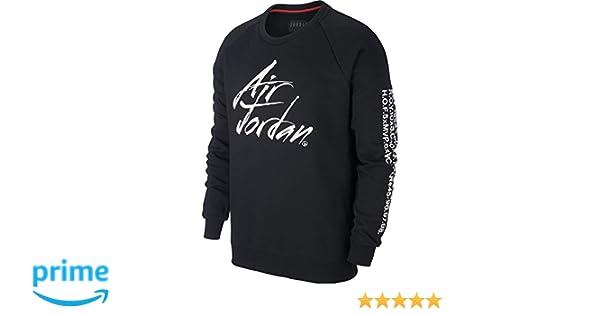 Nike Jordan Jumpman Greatest Fleece - Talla M - Sudadera para Hombre - Color Negro: Amazon.es: Ropa y accesorios