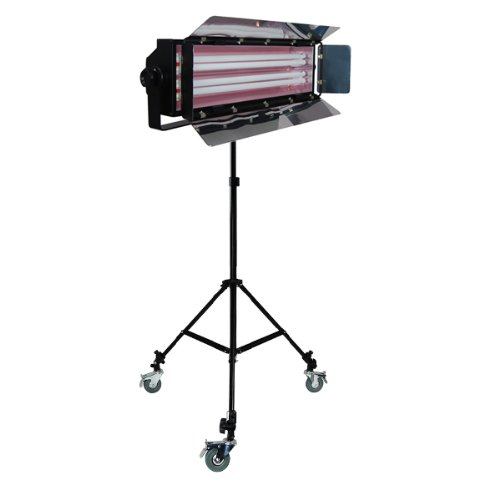LimoStudio Photo Studio 550W Digital Light Fluorescent 2-Bank Barndoor Light Panel, AGG1008