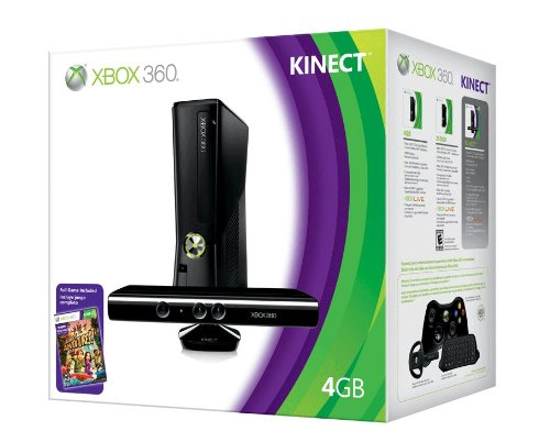Xbox 360 4GB Console with Kinect by Microsoft (Image #4)