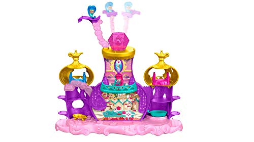 Fisher-Price Nickelodeon Shimmer & Shine, Teenie Genies, Floating Genie Palace Playset ()