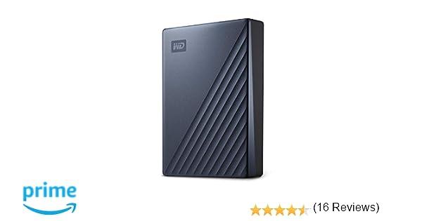 WD My Passport Ultra - Disco Duro portátil de 4 TB y USB Tipo C, Azul: Western-Digital: Amazon.es: Informática