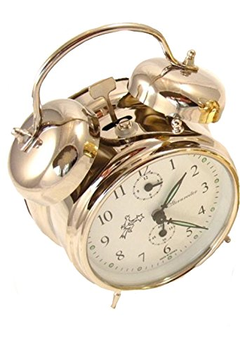 Double Bell Alarm Clock - Silver - Sternreiter - MM11160220