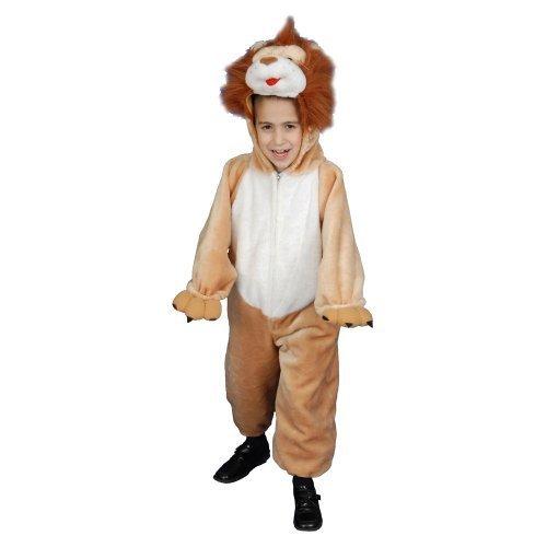Kids Plush Lion Costume Set - Large 12-14 by Dress Up America