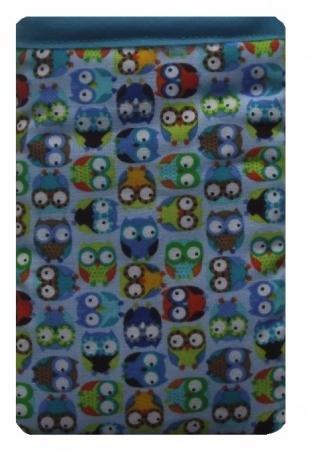 Eulen in blau Apple iPhone 5oder 5C oder 5S Socke/Case/Cover/Tasche