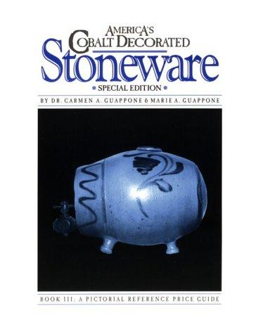 (America's Cobalt Decorated Stoneware )