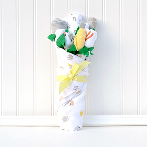 - New Baby Gift Flower Bouquet Set for New Mom