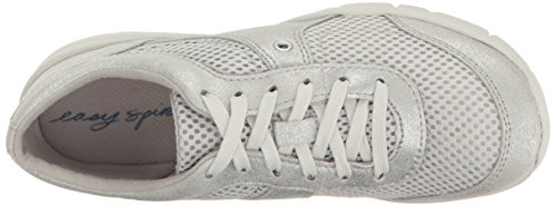 Womens Silver Easy Gogo2 Silver Sneaker Synthetic Fashion Spirit pWWPnq5