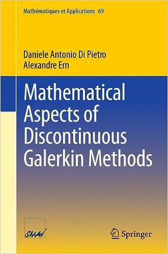 Book Mathematical Aspects of Discontinuous Galerkin Methods (Mathématiques et Applications)