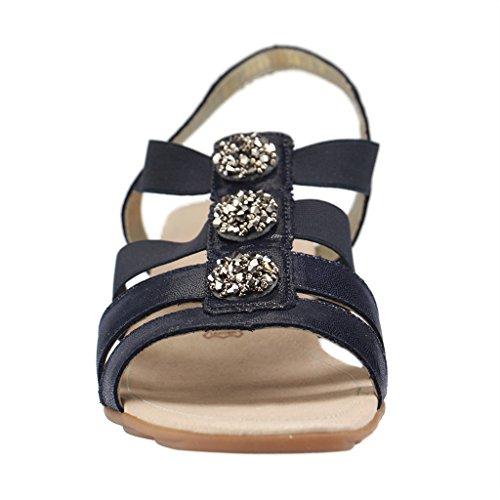 Remonte Avara Womens Casual Sandals BLAU XyBQtLNE0