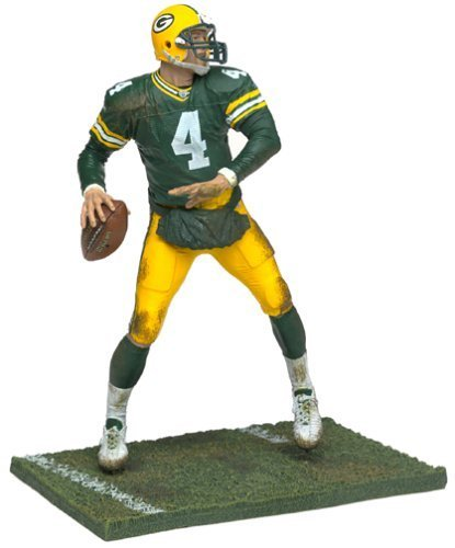 McFarlane Sportspicks: NFL Series 4 Brett Favre (Green Sleeves Chase Variant) Action Figure by Sports
