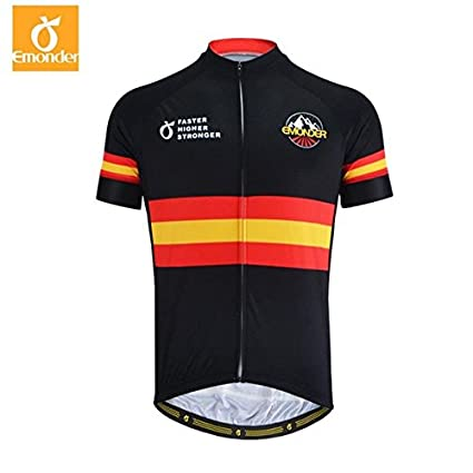 db0d6a2a9 Buy SRS Summer Men Cycling Jersey Mavic Pro Team Short Sleeve -Black ...
