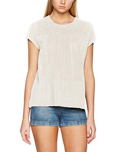 s.Oliver 14704124743, Blusa para Mujer crema (creme 0210)