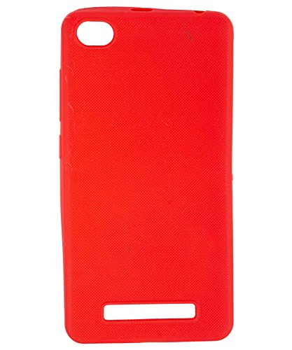 iWAY Dotted Matte Finish Design Thin TPU Soft Back Cover for Xiaomi Redmi 4A   RED