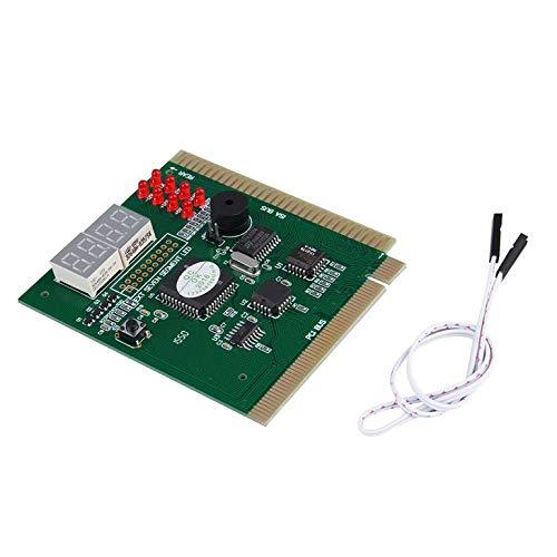 CreameBrulee 4-Digits Analysis Diagnostic Motherboard Tester Desktop PCI Express Card