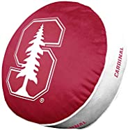 Team Logo 15 Inch Ultra Soft Stretch Plush Pillow (Stanford Cardinal - Team Color,)