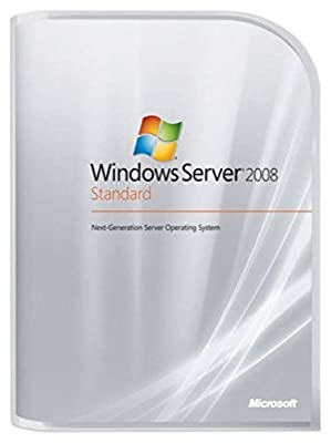 Microsoft Windows Server Standard 2008 5 Client [Old Version]