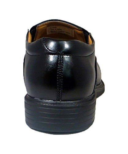 La Milano Mænds Sort Læder Komfort Sko Brede Eee # A1720 U6aOy90
