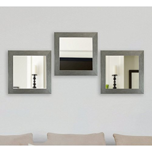 Rayne Mirrors Yukon Square Wall Mirror - Set of 3 by Rayne Mirrors