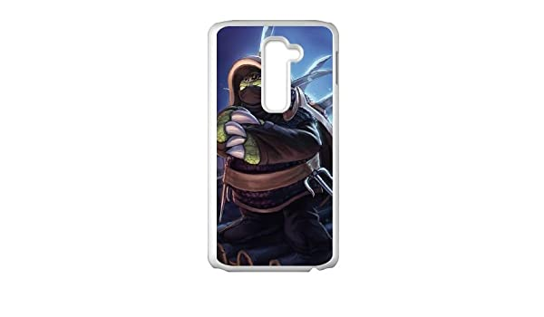 LG G2 Cell Phone Case White League of Legends Ninja Rammus ...