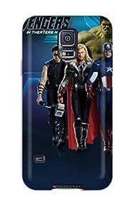 New Tpu Hard Case Premium Galaxy S5 Skin Case Cover(avengers Poster )