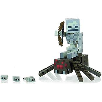 Minecraft Spider Jockey Pack Action Figure