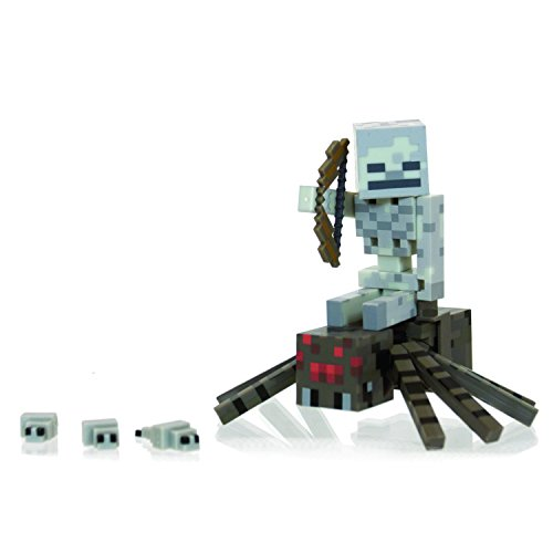 Minecraft Spider Jockey Pack Action Figure