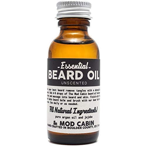 Essential (Unscented) Beard Oil - All Natural, Hand Crafted in USA