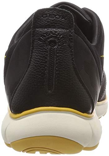 U Black Enfiler Nebula F Baskets Geox C9999 Noir Homme UHqFda