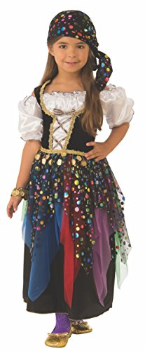 Fortune Teller Costume For Girls - Rubie's Gypsy Child's Costume,
