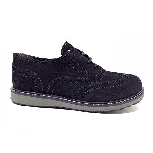 Melania - Zapatillas para niño Azul azul oscuro