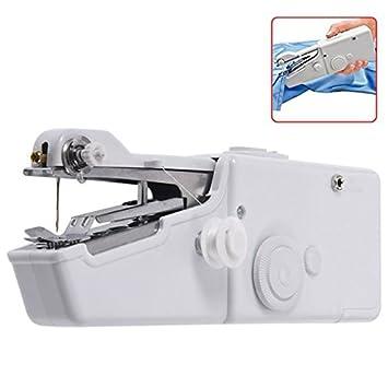 SODIAL Maquina de Coser electrica casera portatil del Viaje portatil del Mini Puntada del hogar: Amazon.es: Hogar