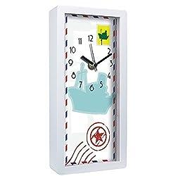 5 x 10 Decorative Rectangle Table Clock - Ship Postage